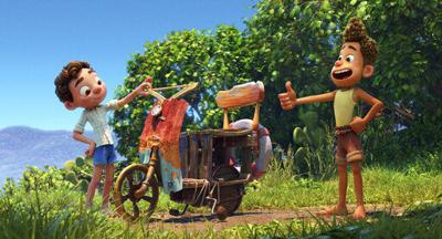 Review: In Pixar's 'Luca,' young life as a stolen adventure