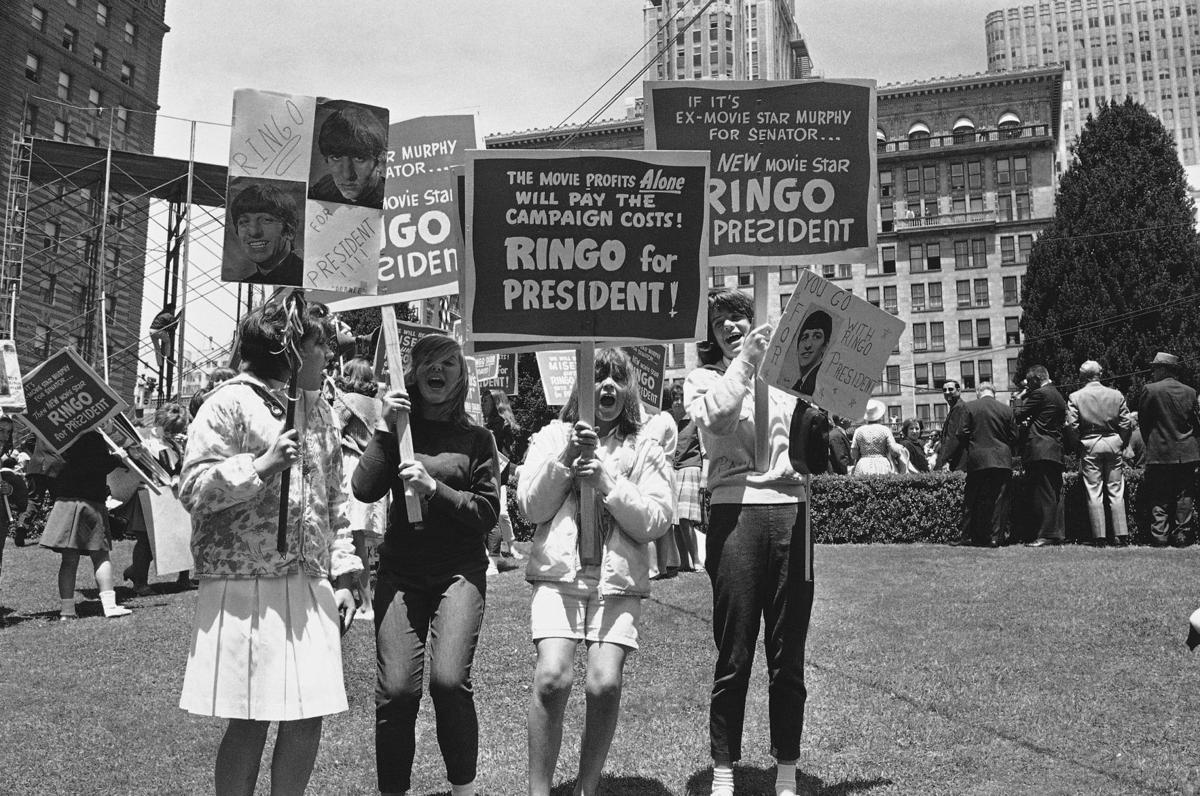 BEATLES:  Ringo Starr For President