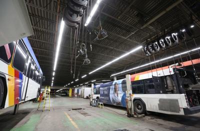 Metro Transit maintenance area