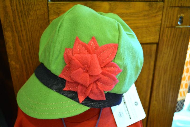 Purple Goose hat