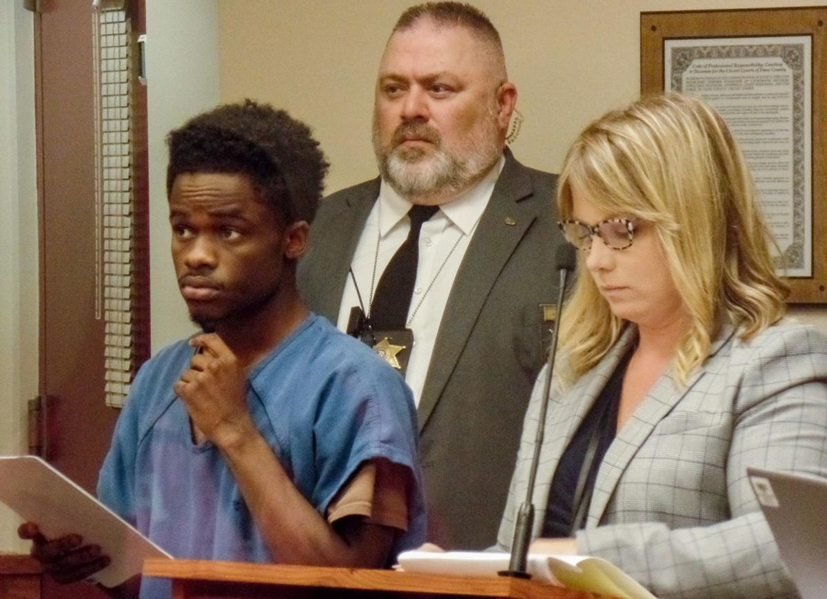 Jamie Hayes in court