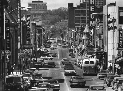 State Street in Madison, 1969