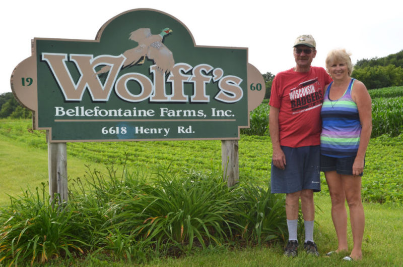 Wolff's Bellefontaine Farms hatch pheasants and chukar