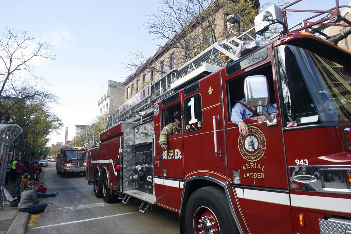 Madison fire truck