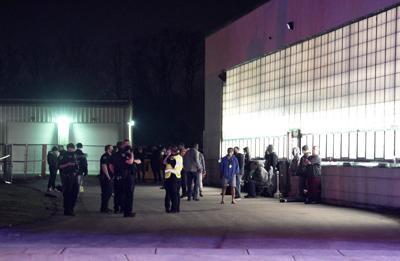 Police respond to scene