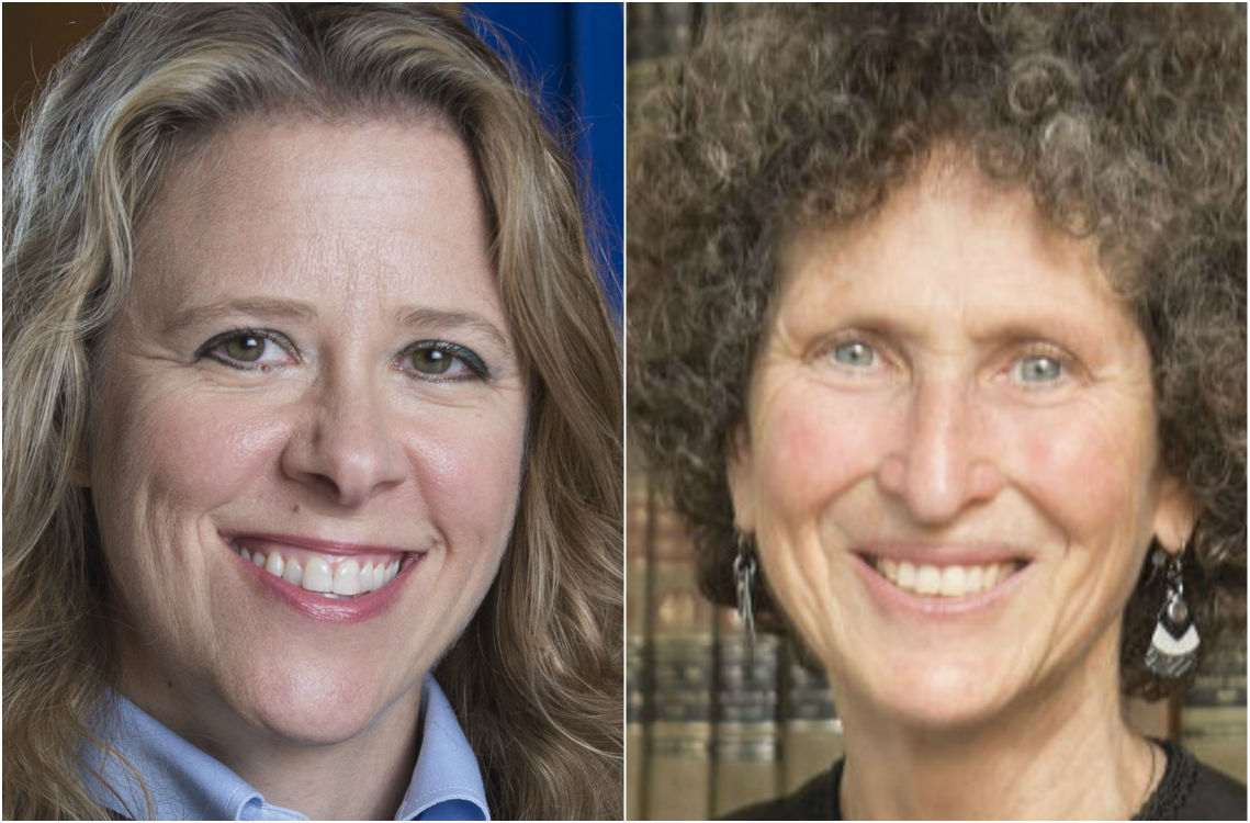 Rebecca Bradley and JoAnne Kloppenburg