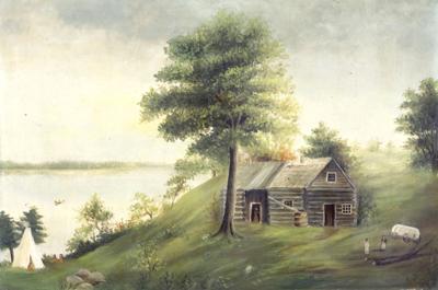Eben Peck cabin