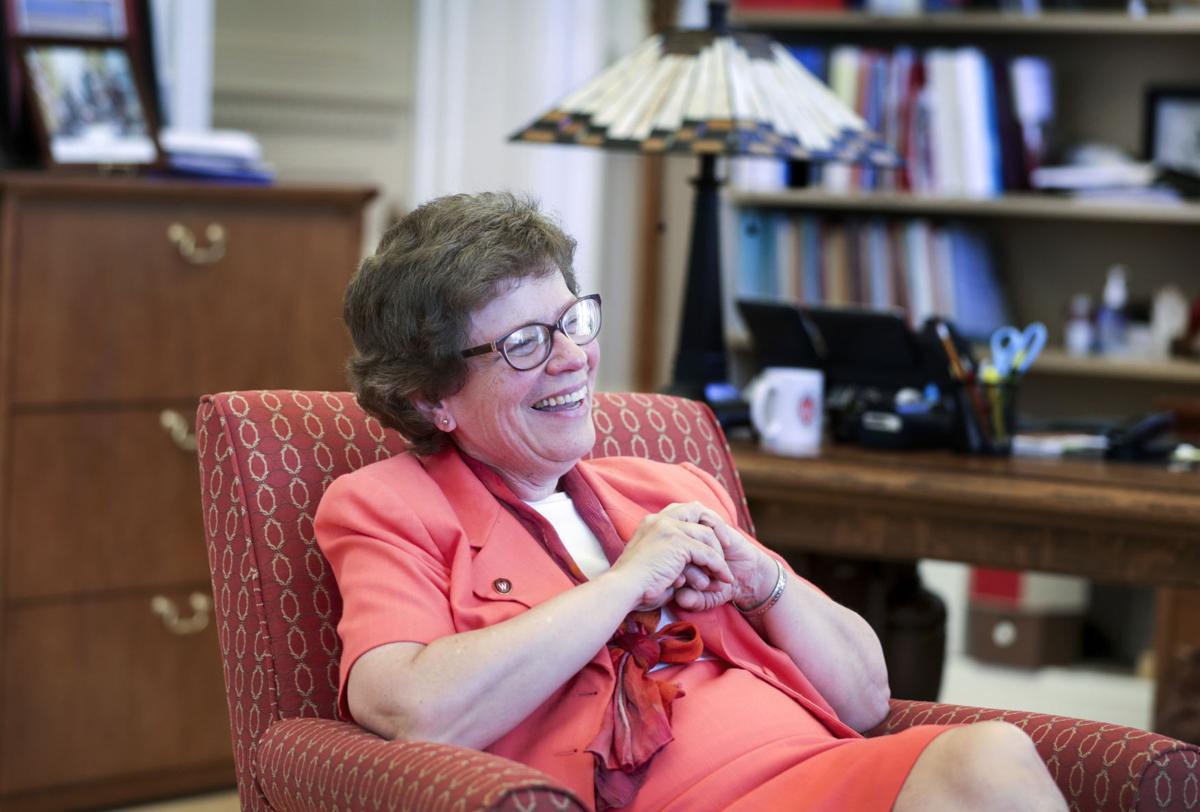 Rebecca Blank in office