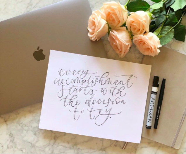 Fauxligraphy Hand Lettering