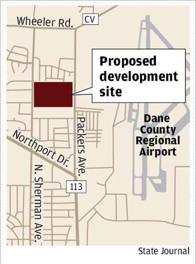 Proposed development site