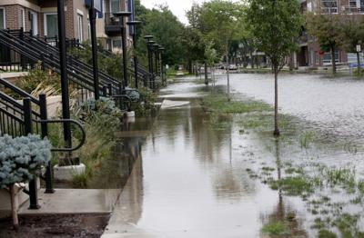 Flooding on East Mifflin Street