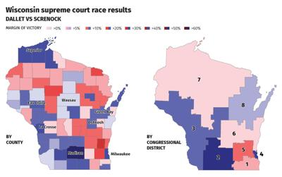 Supreme Court race results graphic