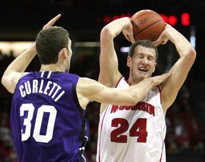 Tim Jarmusz, UW men's basketball vs. Northwestern