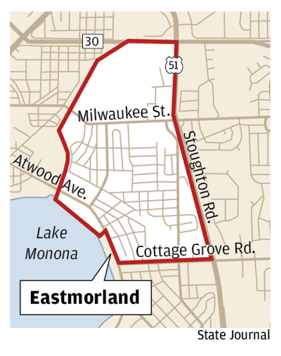 Eastmorland neighborhood
