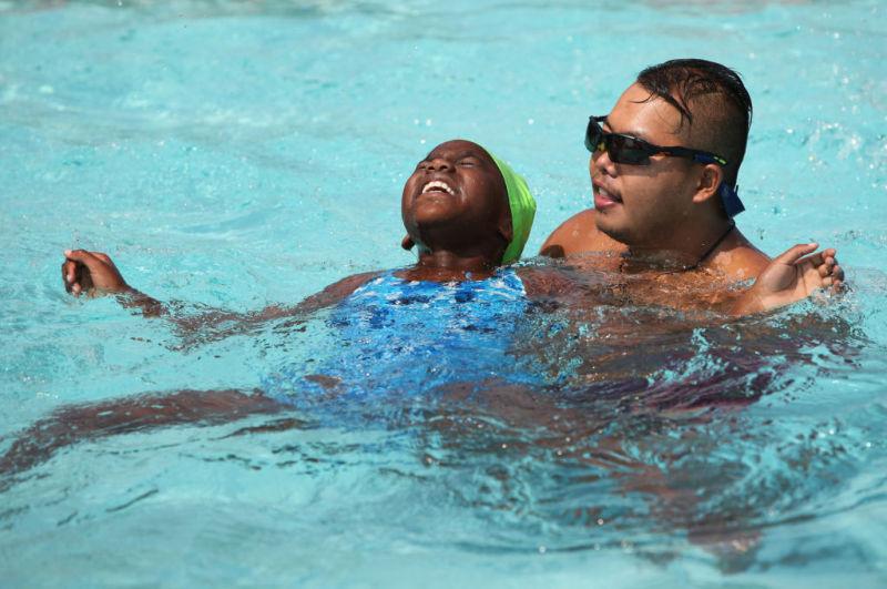 Swim class photo 2
