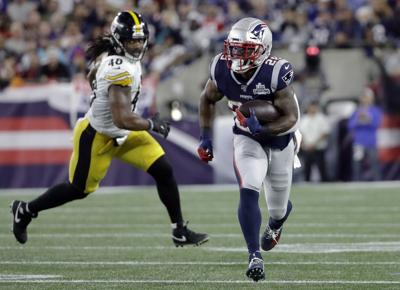 James White - Steelers Patriots