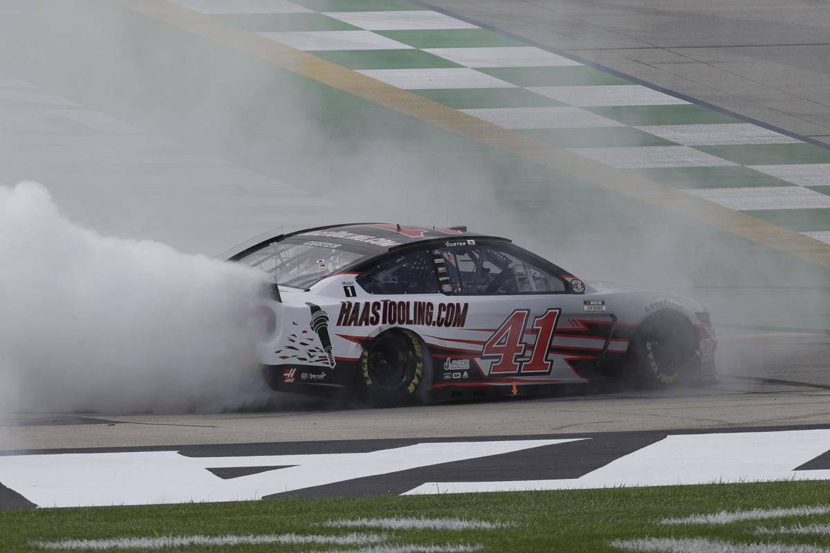 NASCAR jump image