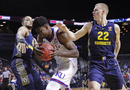 Sam and Joey Hauser give No. 20 Marquette a brotherly boost