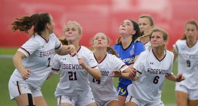 WIAA state girls soccer photo: Madison Edgewood vs. Waukesha Catholic Memorial
