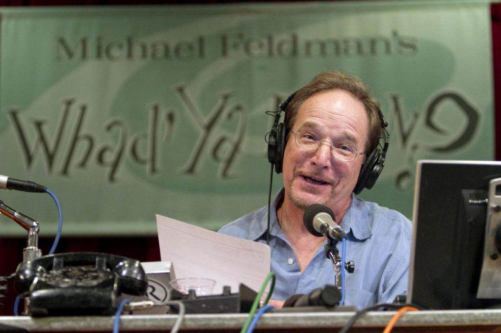 'Whad'Ya Know?' host Michael Feldman