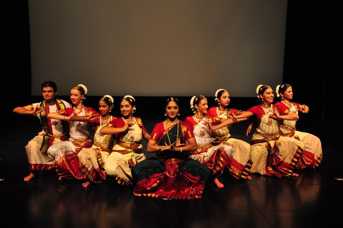 Kalaanjali Dance Company Kids in the Rotunda