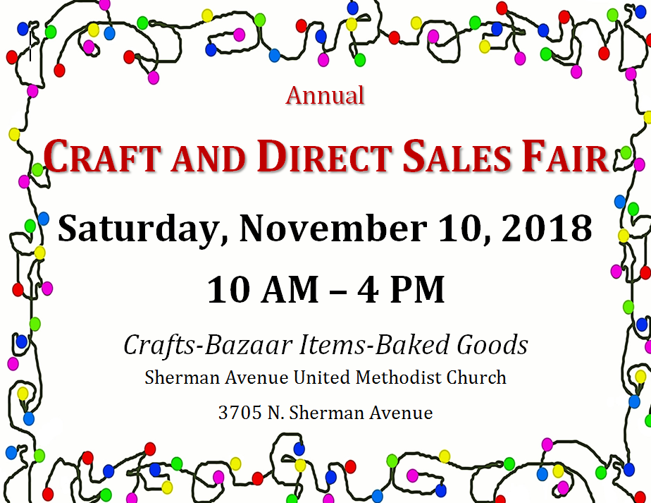 Annual Craft and Direct Sales Fair Flyer
