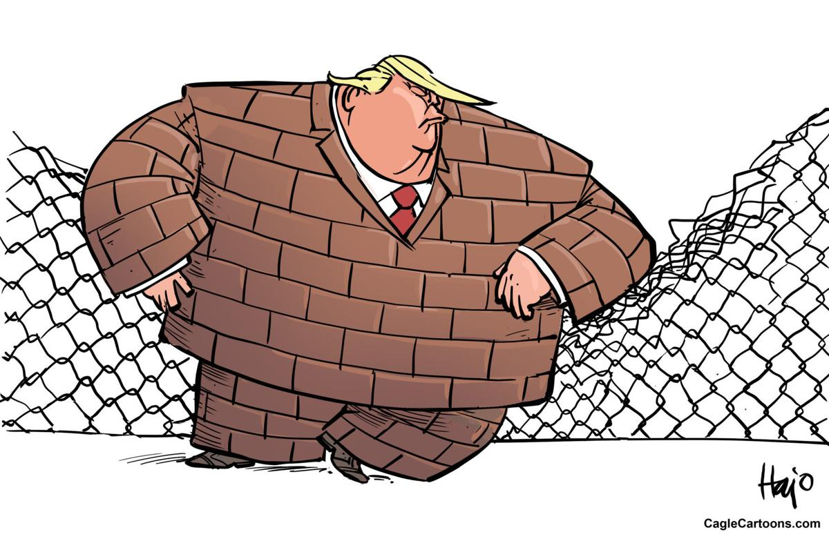 Trump wants his wall