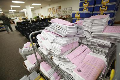 Late absentee ballots more than double after deadline moved up three days