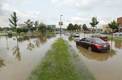 Cars Flooded