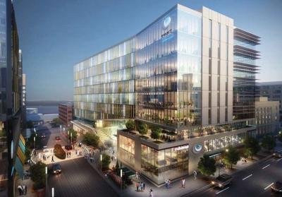 Judge Doyle Square - Exact Sciences building, rendering