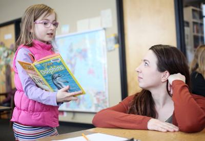 Isthmus Montessori Academy student in class