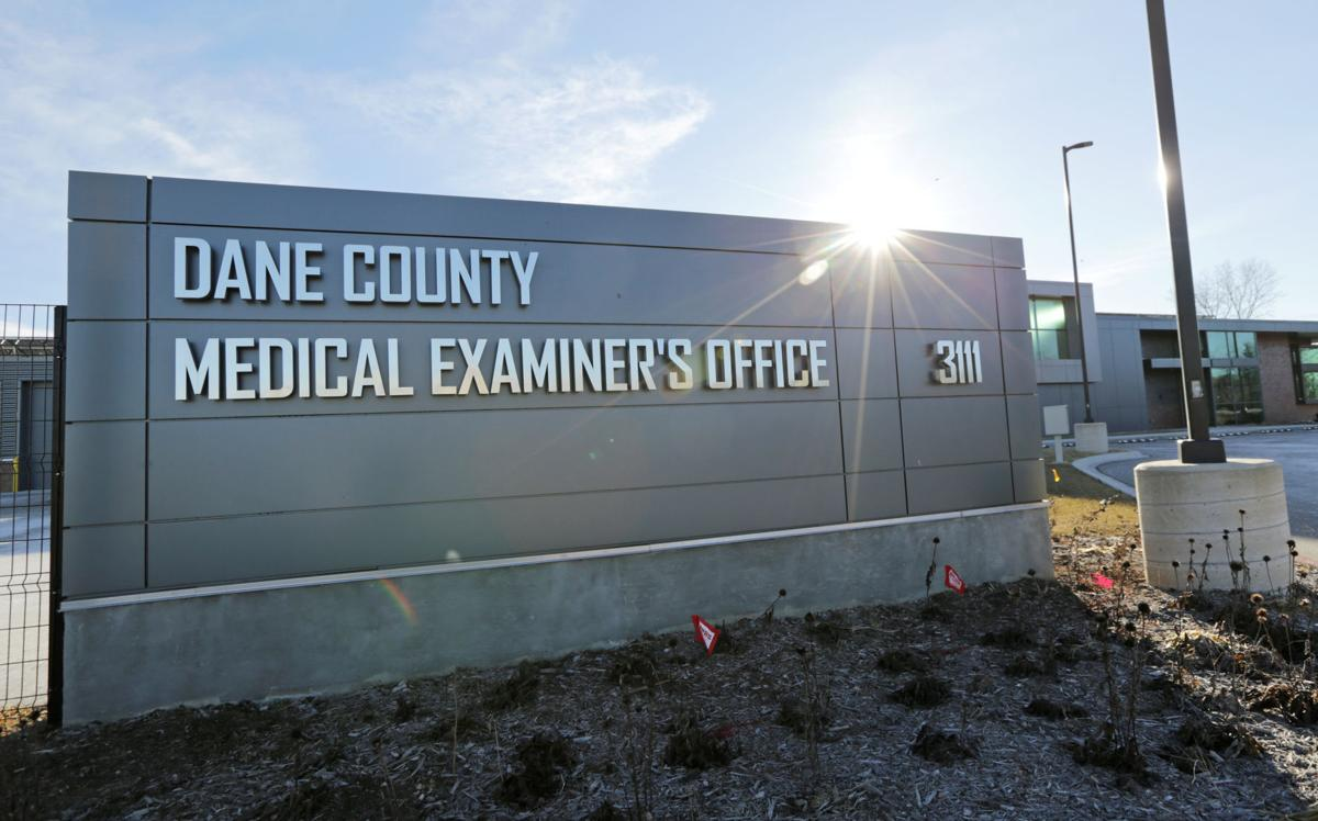 Dane County Medical Examiner's Office entrance
