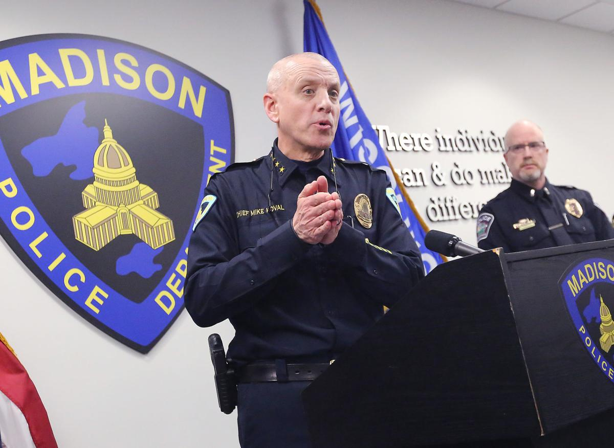 Madison Police Chief Mike Koval (copy)