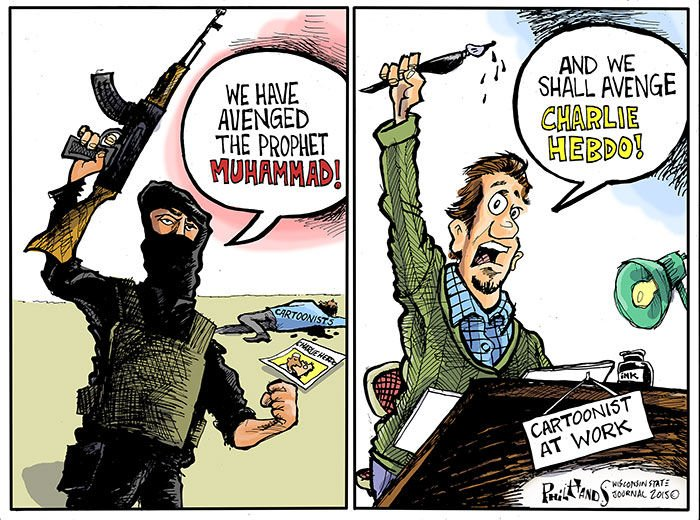 Phil Hands Terrorists Martyred Charlie Hebdo Opinion Madison Com