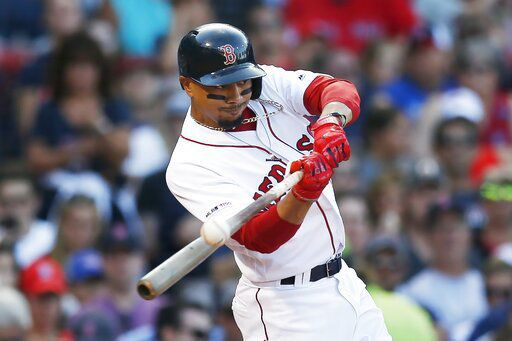 AP source: Boston agrees to trade Betts, Price to Dodgers