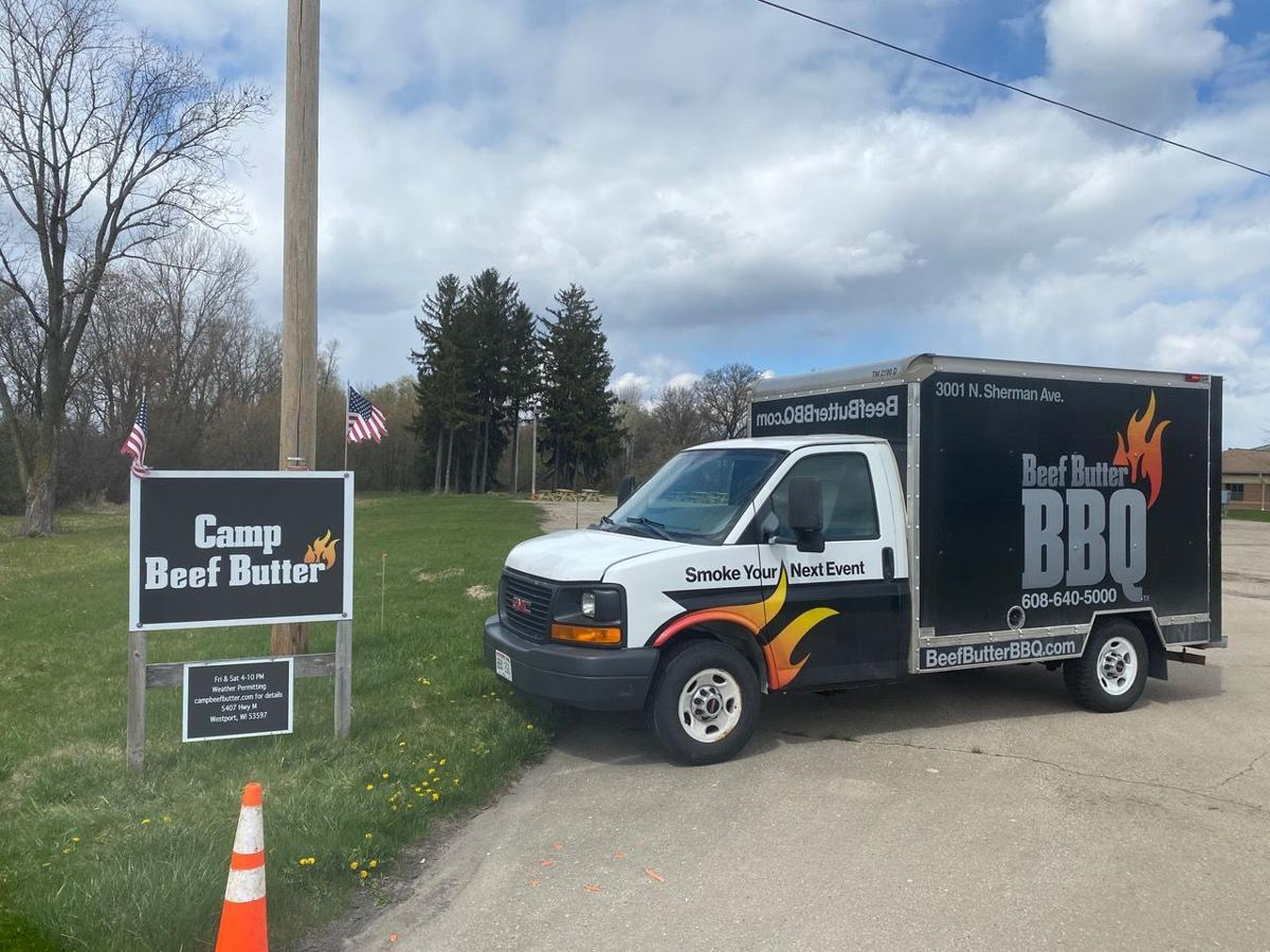 BBB truck and sign
