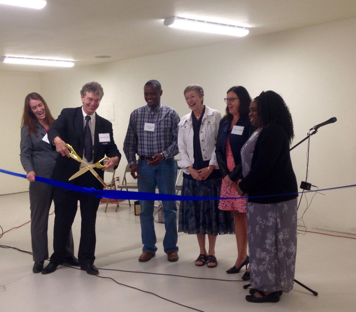 Porchlight Thierer Road campus ribbon cutting