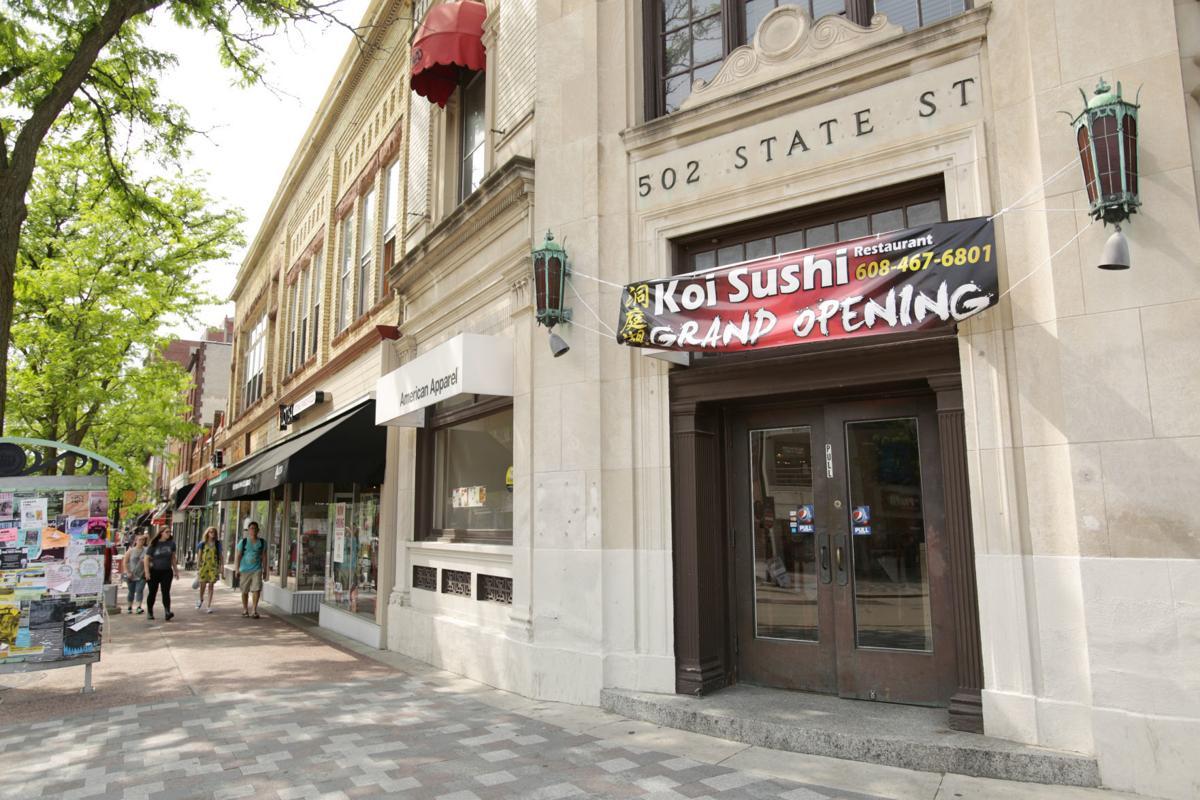 Koi Sushi exterior