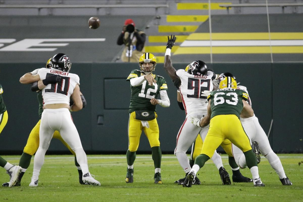 Aaron Rodgers - Falcons Packers