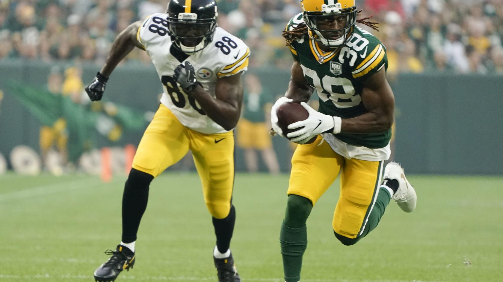 Packers notes: Ageless Tramon Williams' return to Green Bay begins with a pick-6