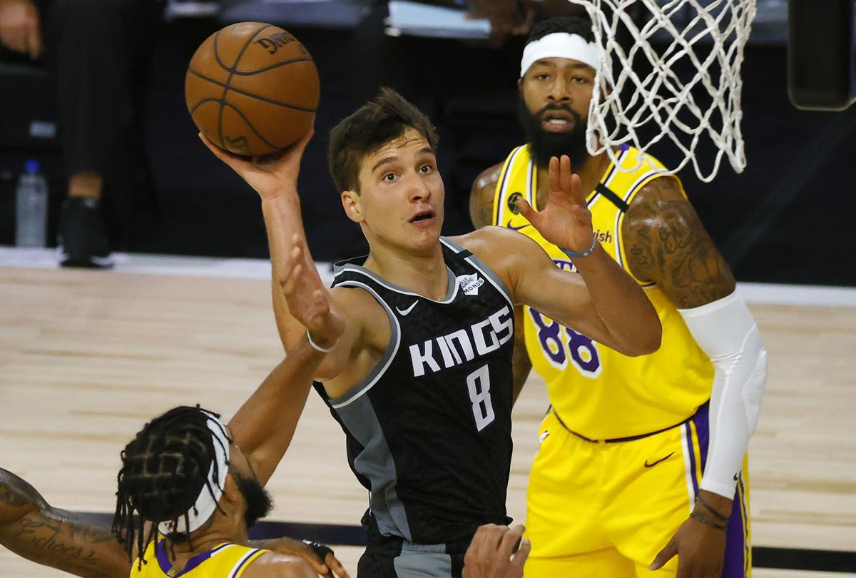 Bogdan Bogdanovic with Kings, AP file photo
