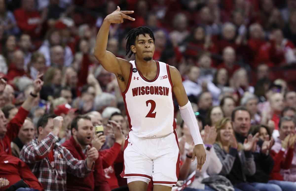 Gaining momentum: Aleem Ford's big night helps Wisconsin Badgers hold off  Purdue Boilermakers | Wisconsin Badgers Men's Basketball | madison.com