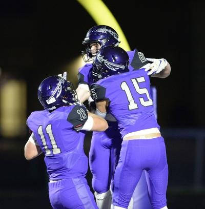 Prep football photo: Waunakee celebrates score against Reedsburg