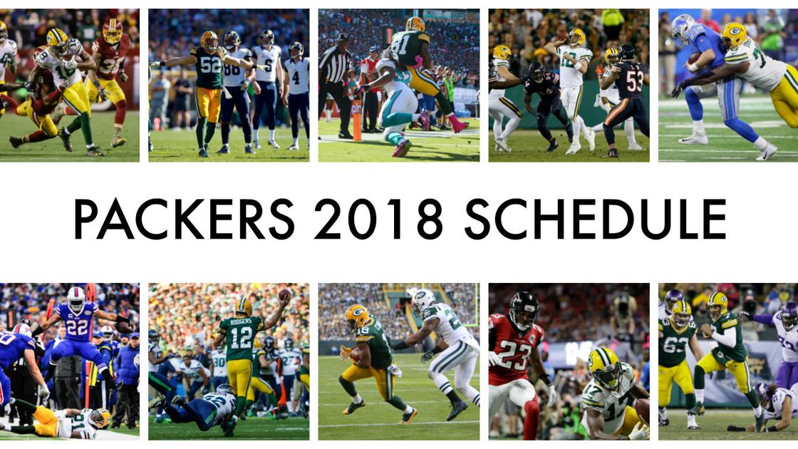 It's just a photo of Crazy Green Bay Packers Schedule 2020 Printable