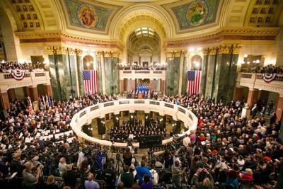 rotunda inauguration