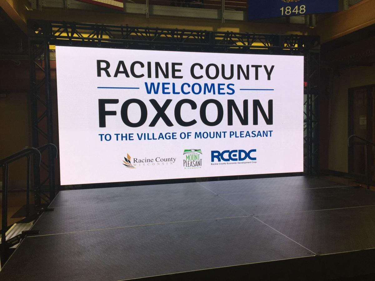 Racine County welcomes Foxconn