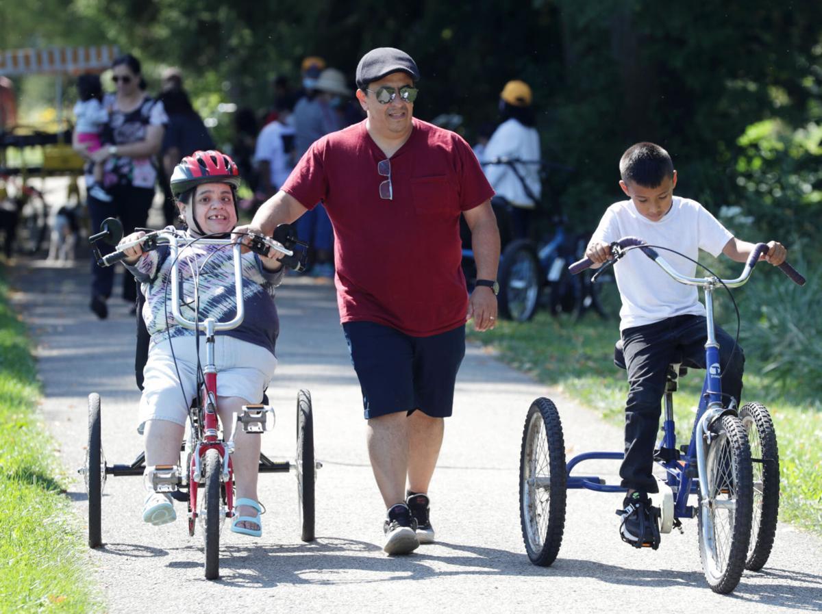 Adaptive bike event