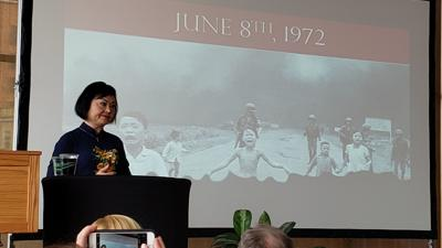 'Napalm girl' shares story of forgiveness