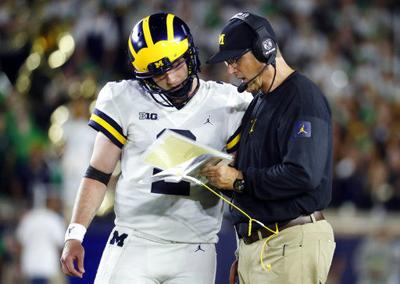 best website 5c5bd 30d40 Badgers start of tough 3-game stretch for Michigan | College ...