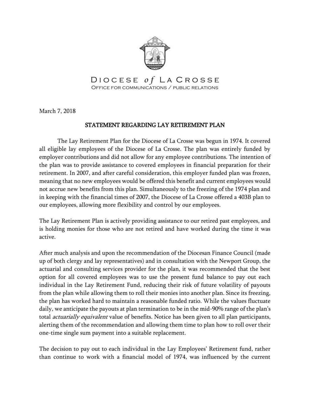 PDF: Diocese of La Crosse